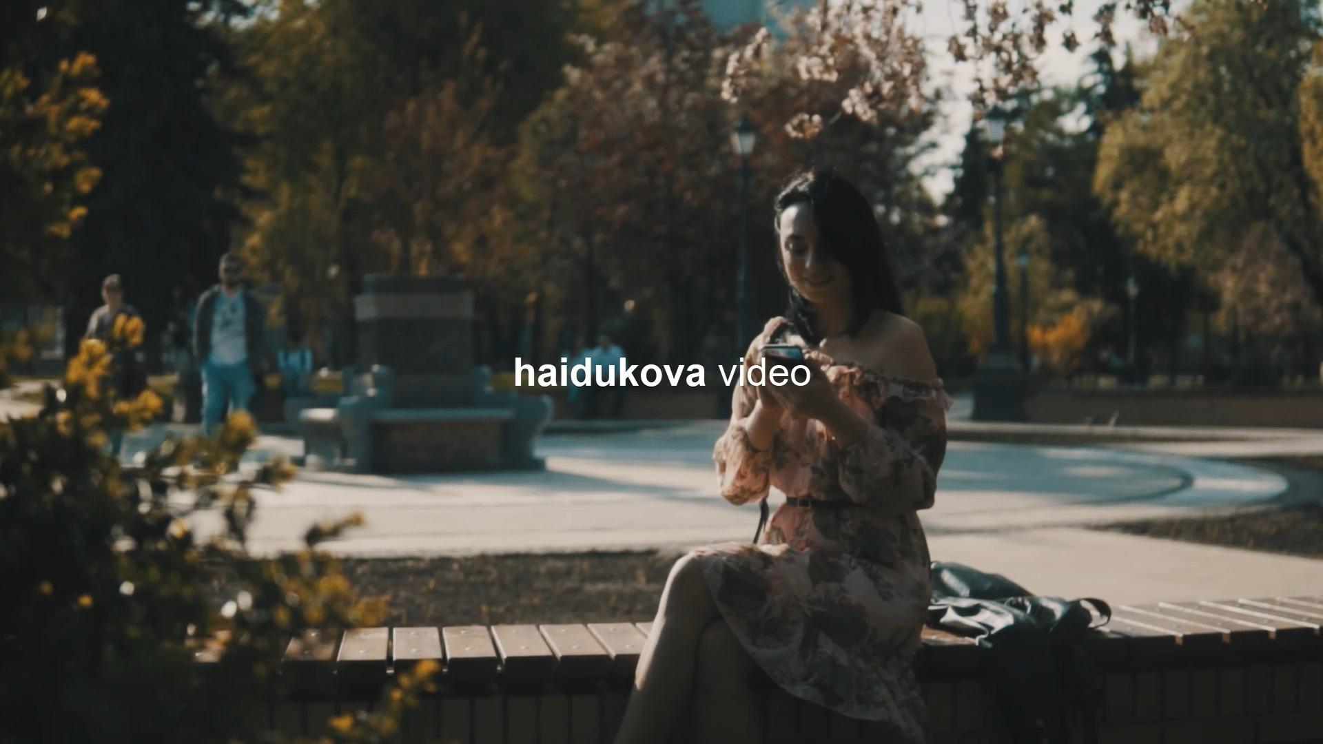 женский видеопортрет киев